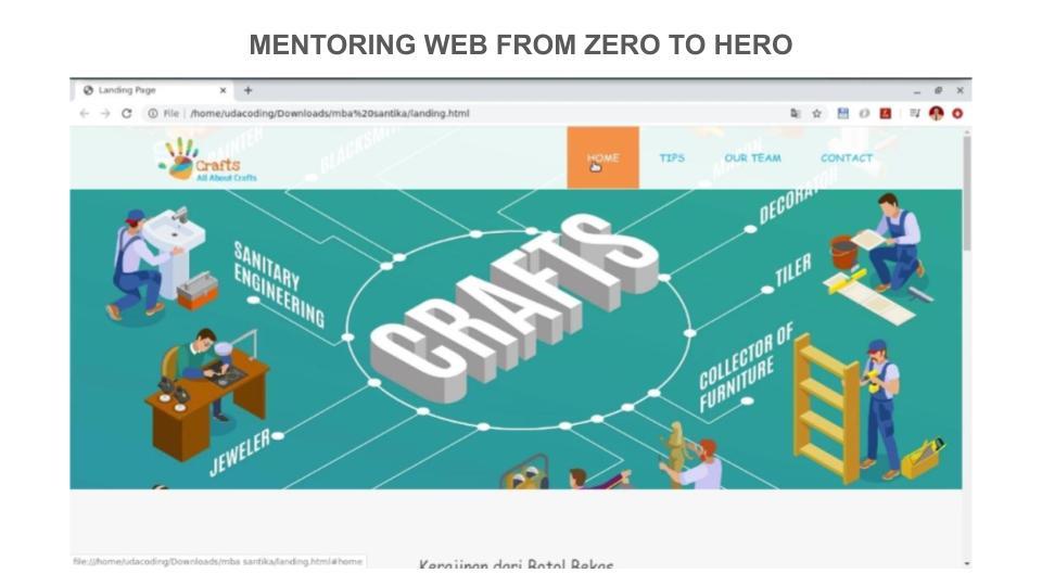Mentoring Web Development