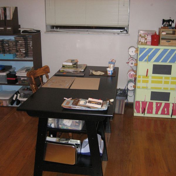 Organized Craft Room | udandi.com