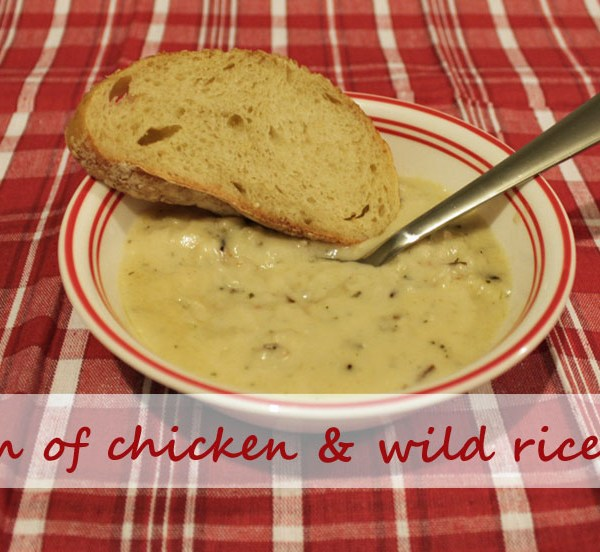 cream of chicken and wild rice