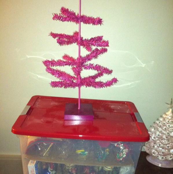 udandi homemade ornament storage box