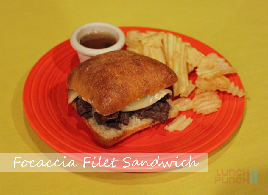 Recipe: Focaccia Filet Sandwich
