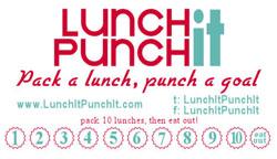 Lunch It Punch It Loyalty Card