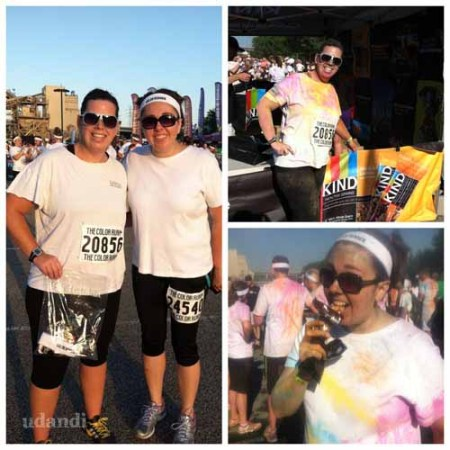 The Color Run Cincinnati Happiest 5k |udandi.com