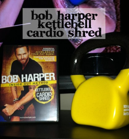 Bob Harper Kettle bell Cardio Shred