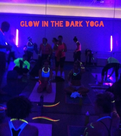 Glow in the Dark Yoga