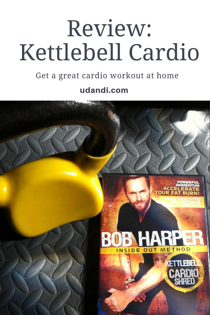 Bob Harper Kettlebell Cardio Workout Review | udandi.com