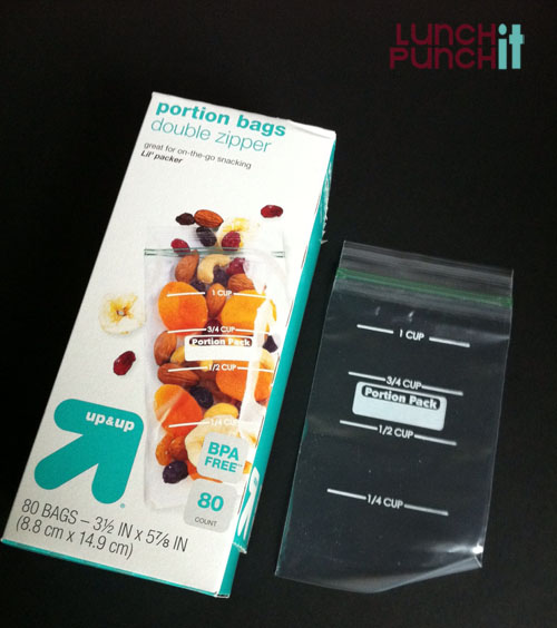 target Portion Control bags
