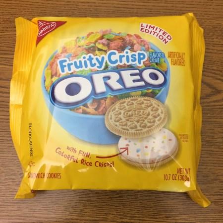 Fruity Crisp Oreo Limited Edition