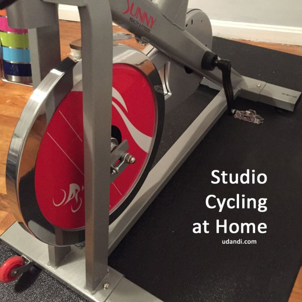Create a Peloton cycling experience at home