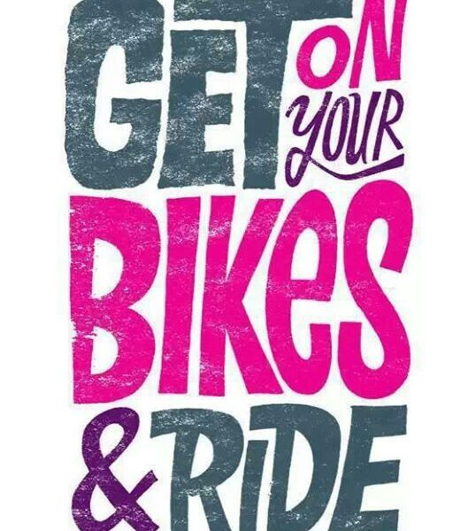Get on your bikes and ride by chris piascik