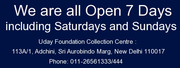 Uday Foundation collection centre