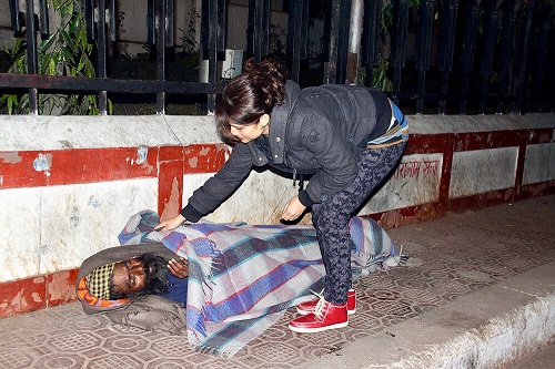 Uday Foundation | Donate Blankets for poor & homeless in New