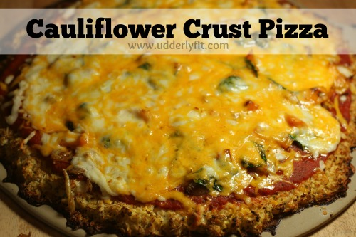 21 Day Fix - Cauliflower Crust Pizza
