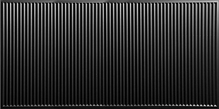 polyline ceiling tile black 2x4