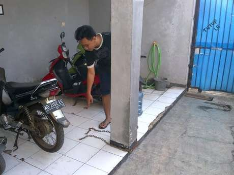 Pencurian motor di Jakarta