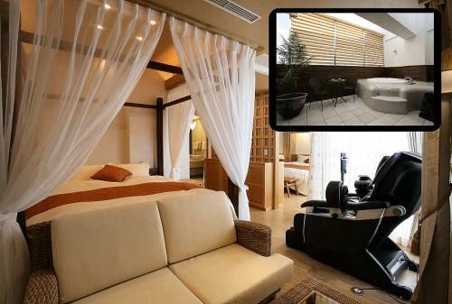 Interior Love Hotel