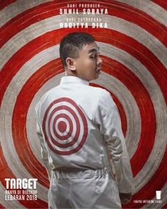 Raditya Dhika - Poster Karakter Film Target