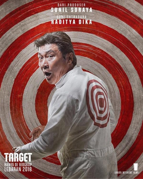Willy Dozan - Poster Karakter Film Target
