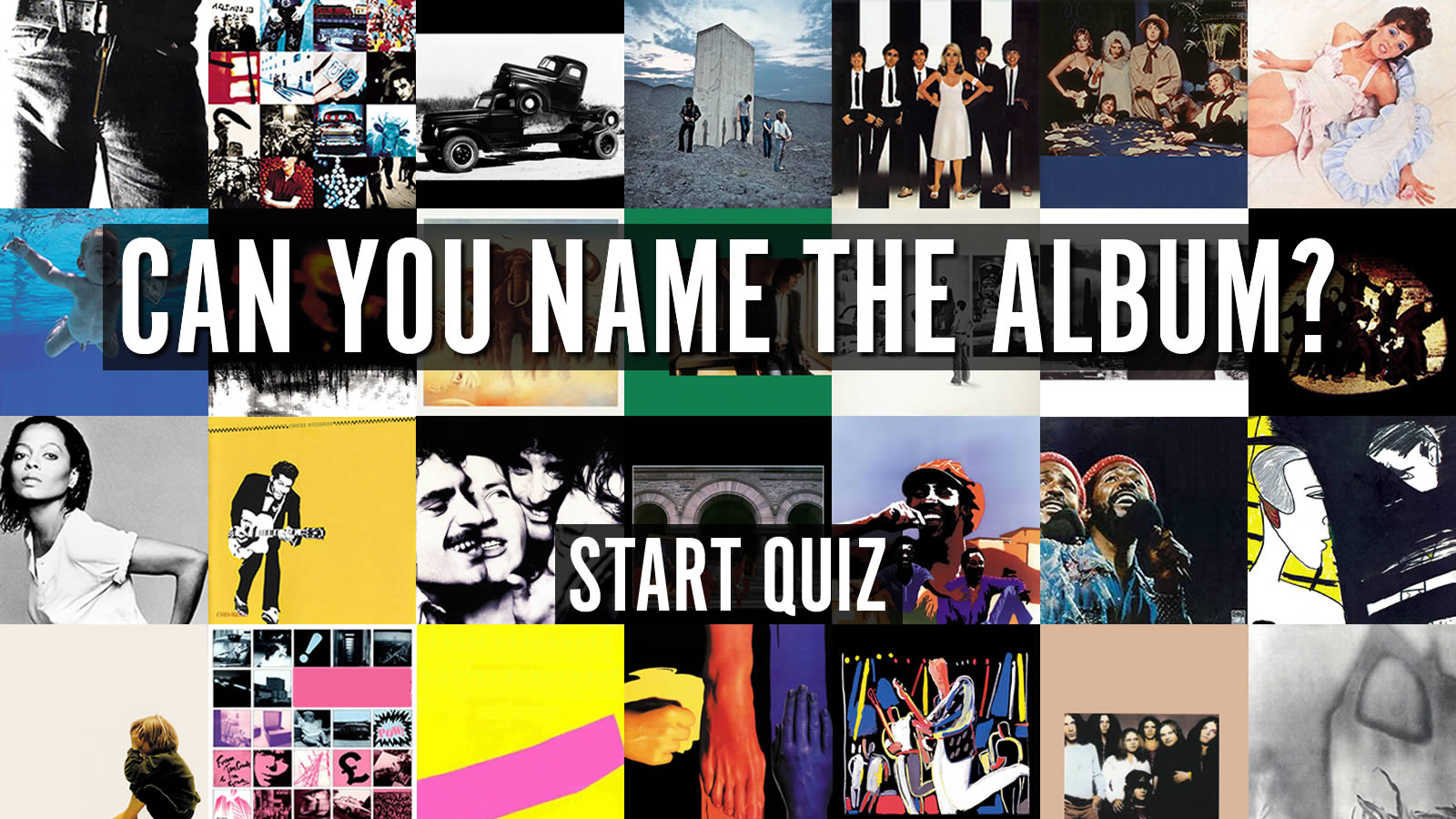 Can You Name The Album Uquiz