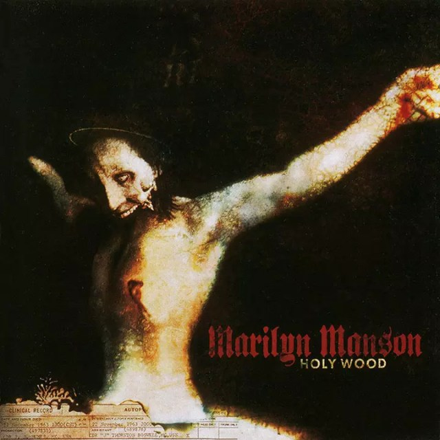 Marilyn Manson Holy Wood Album Cover