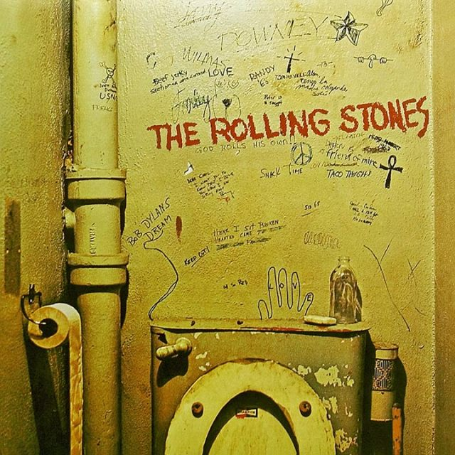 The Rolling Stones Beggars Banquet Album Cover