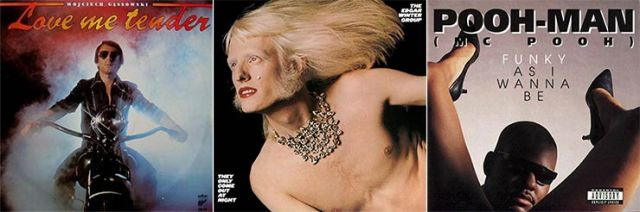 Love Me Tender Edgar Winter Group Pooh Man worst album covers
