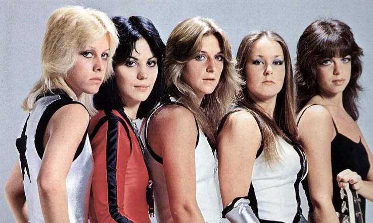 The Runaways, pioneering all women group in heavy metal
