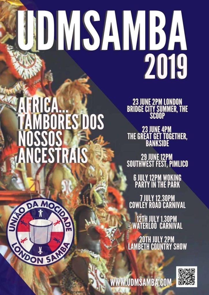 UDM Samba 2019 events