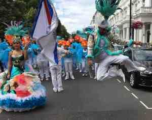 UDMSamba, Southwest Fest, Pimlico SW1, Uniao da Mocidade, Youth samba London, Porta Bandeira, Mestre Sala, Jumping Dancer