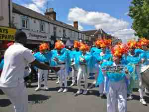 UDMSamba, Cowley Road Carnival, Uniao da Mocidade, Youth samba London and Oxford, Bateria,