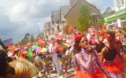 Carnival Samba, samba drumming, cowley road carnival, youth samba london,