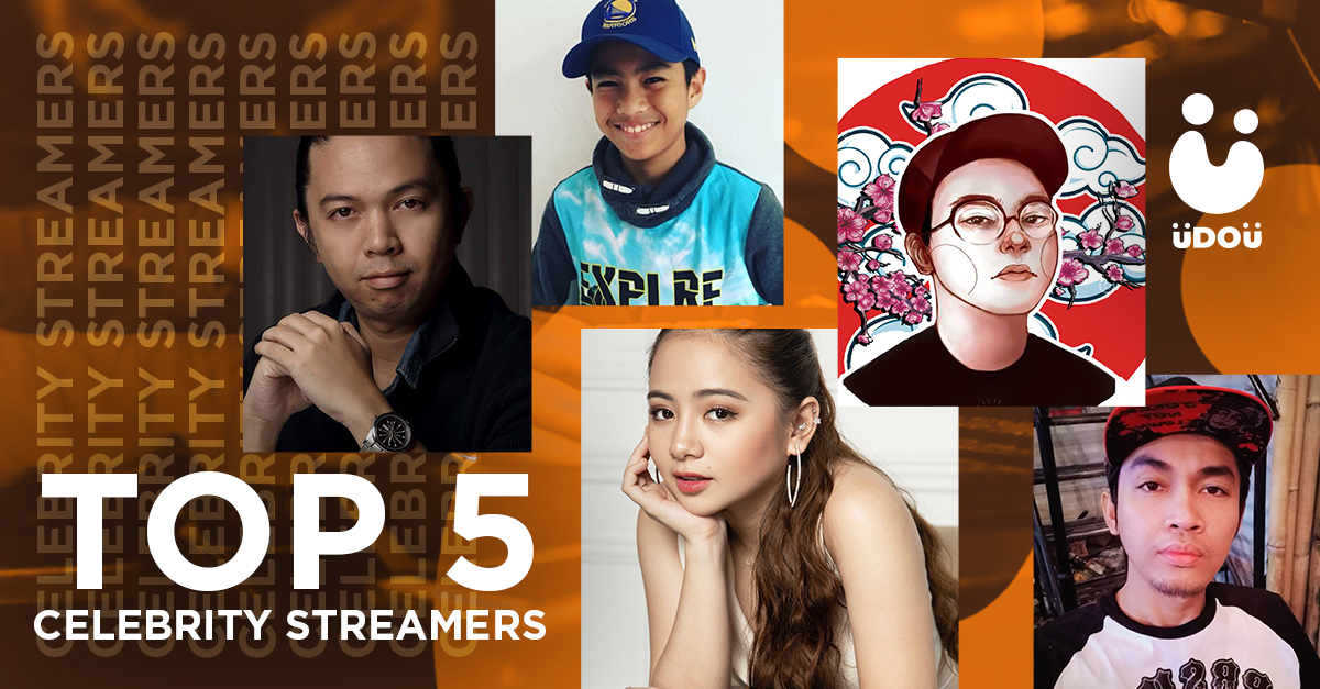 Weekly Top 5 Celebrity Streamers