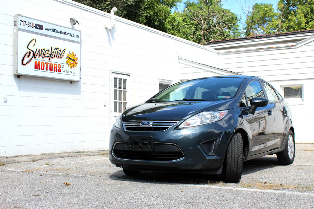 2011 Ford Fiesta Front Side Buy Here Pay Here York PA