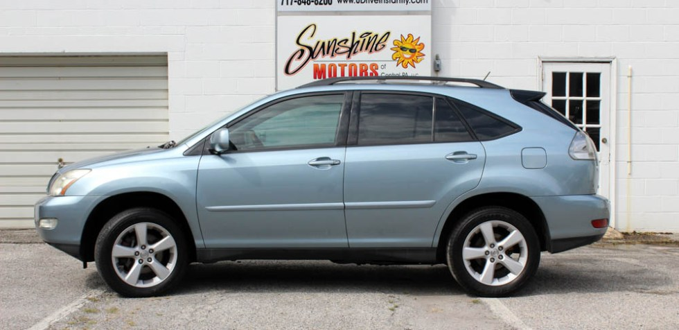 Blue 2007 Lexus RX 350 Side Buy Here Pay Here York PA