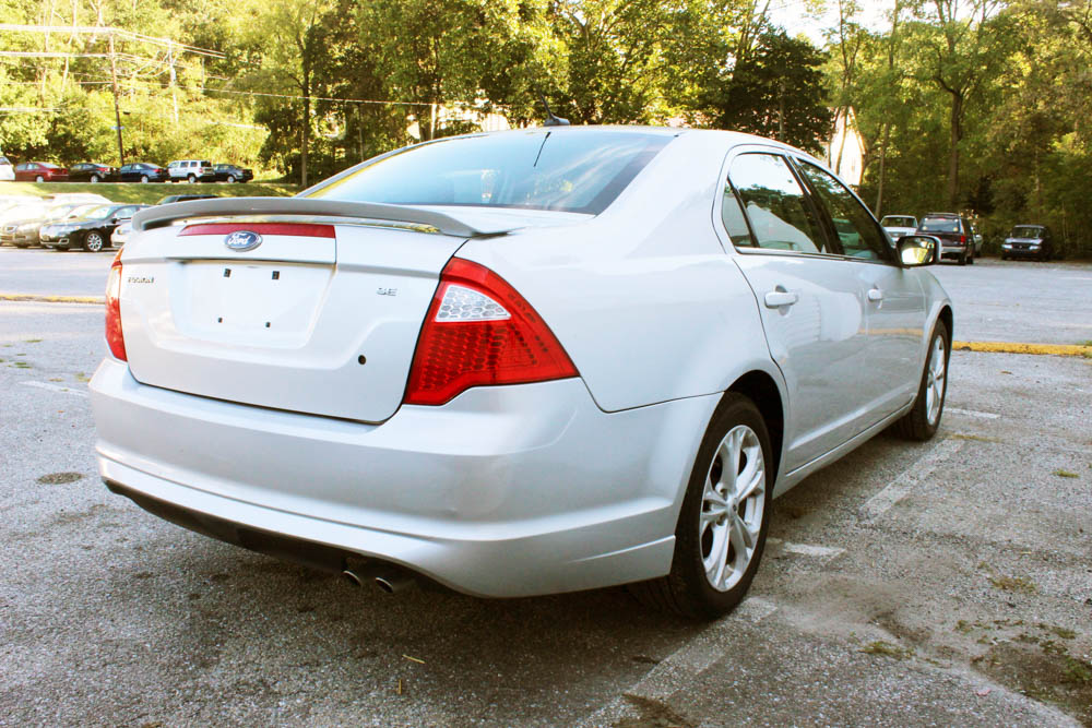 Ford Fusion 2012 Rear Side Buy Here Pay Here York PA