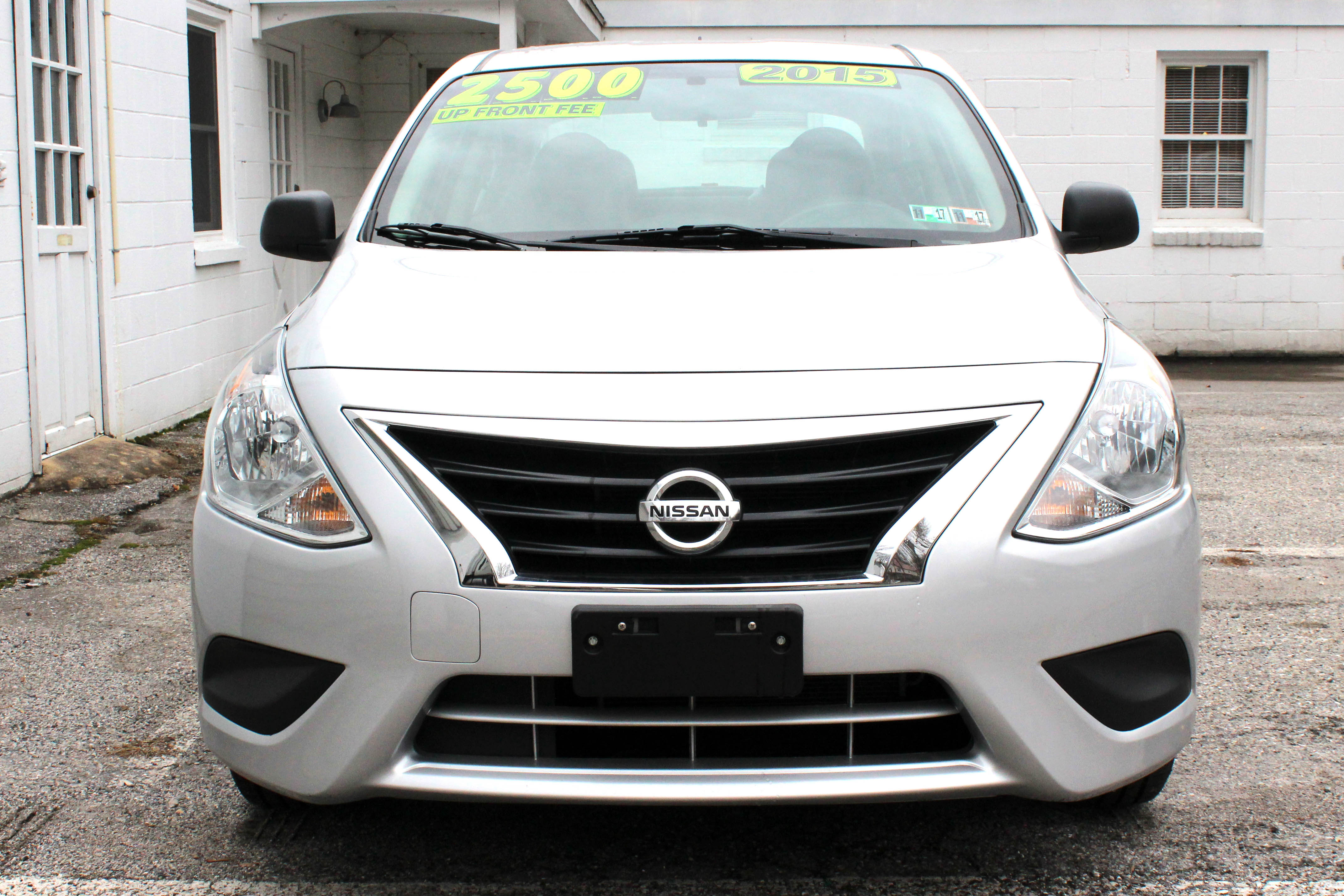 Nissan Versa 2015 Front Buy Here Pay Here York PA