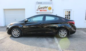 Hyundai Elantra 2016 Side Buy Here Pay Here York PA