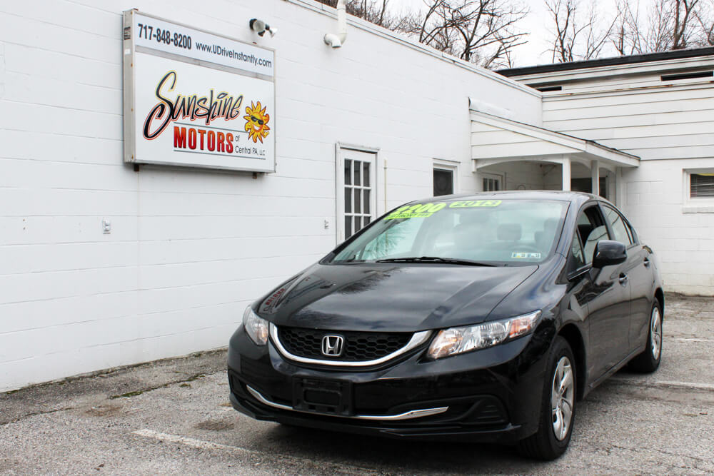2013 Honda Civic Front Side Buy Here Pay Here York PA