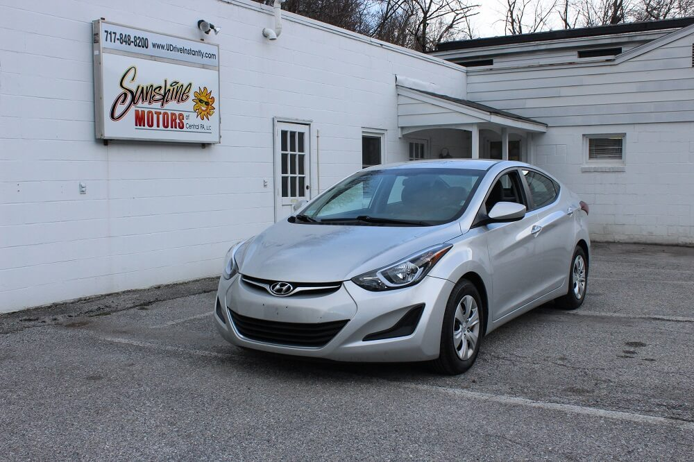 2016 Hyundai Elantra Front Side Buy Here Pay Here York PA