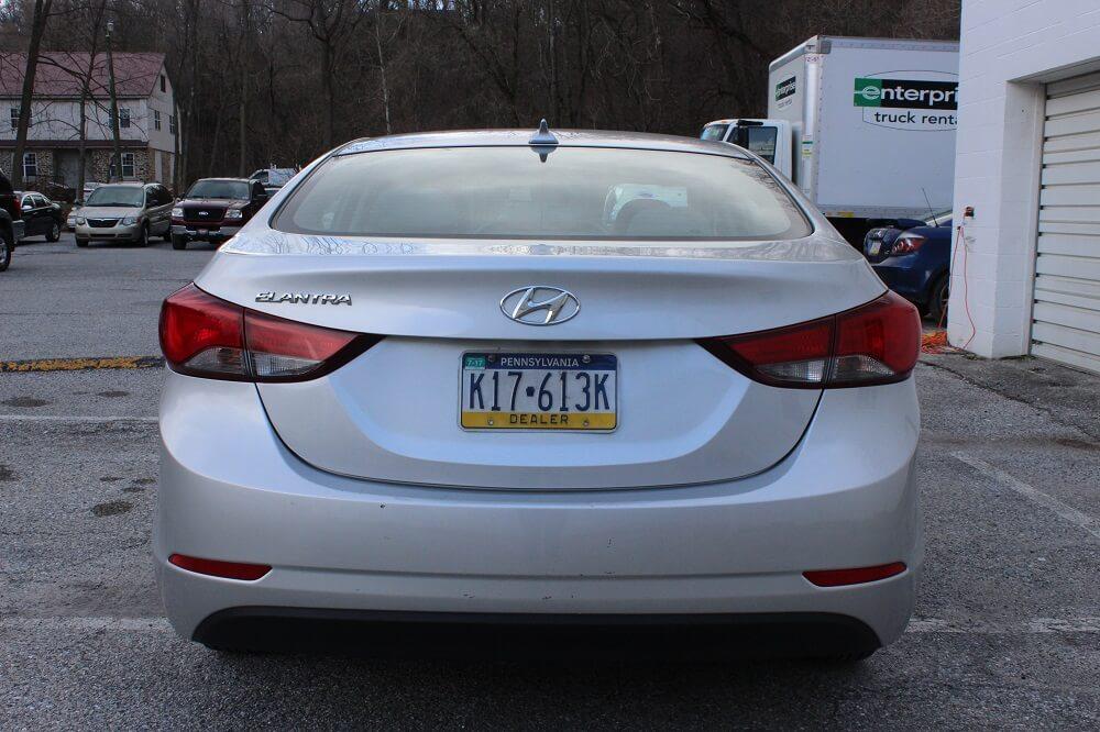 2016 Hyundai Elantra Rear Buy Here Pay Here York PA