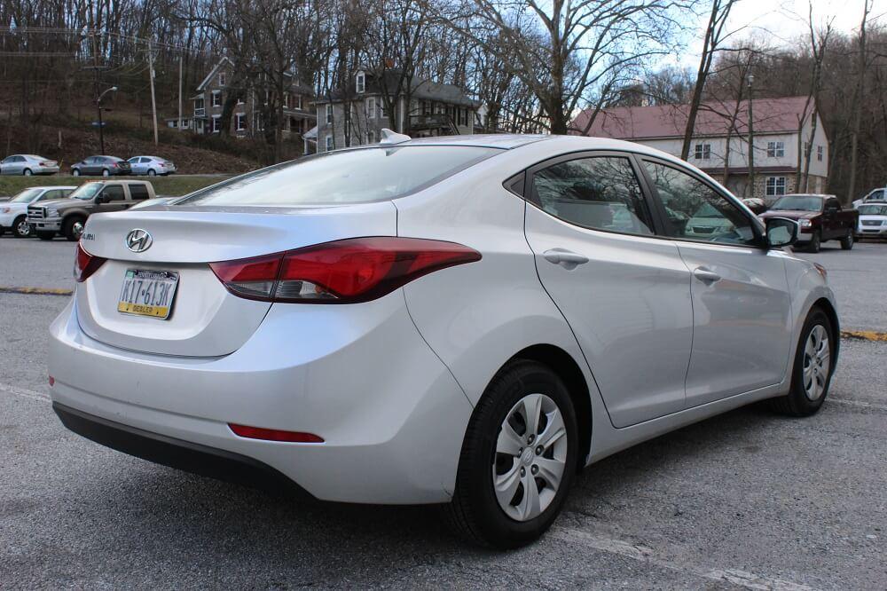 2016 Hyundai Elantra Rear Side Buy Here Pay Here York PA