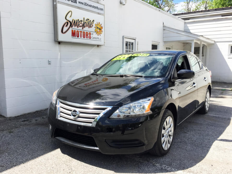 2015 Nissan Sentra Front Side Buy Here Pay Here York PA