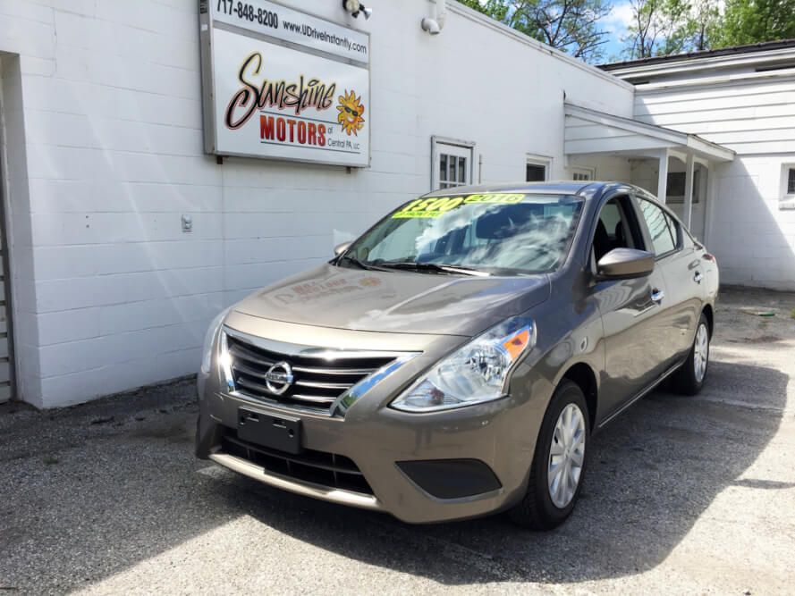 2016 Nissan Versa Front Side Buy Here Pay Here York PA
