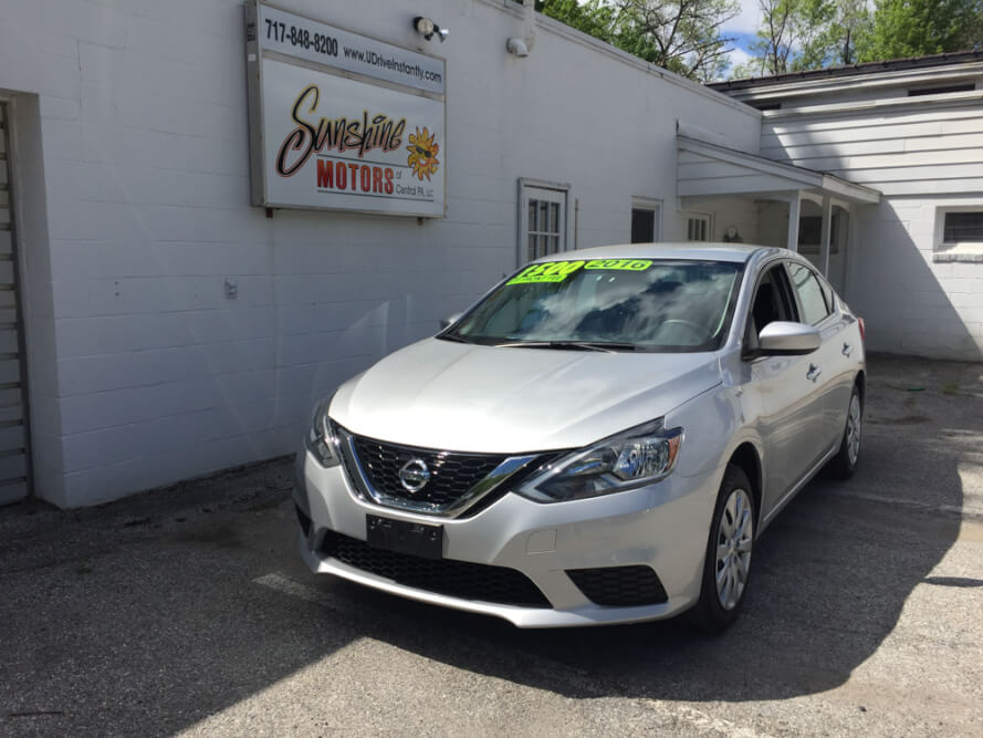 2016 Nissan Sentra Front Side Buy Here Pay Here York PA