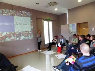 Foto 3: E - Volunteering - predavanje