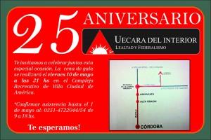 Afiche 25 aniversario - 3
