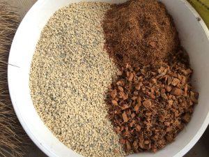 アデニウム植え替えのためのブレンドした土の割合