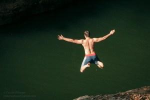Jumping, Queensland.