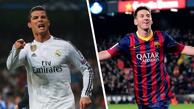 Tied on 75: Messi and Ronaldo goal for goal