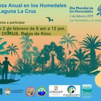 Acompáñanos a nuestra limpieza anual en los Humedales de la Laguna La Cruz.